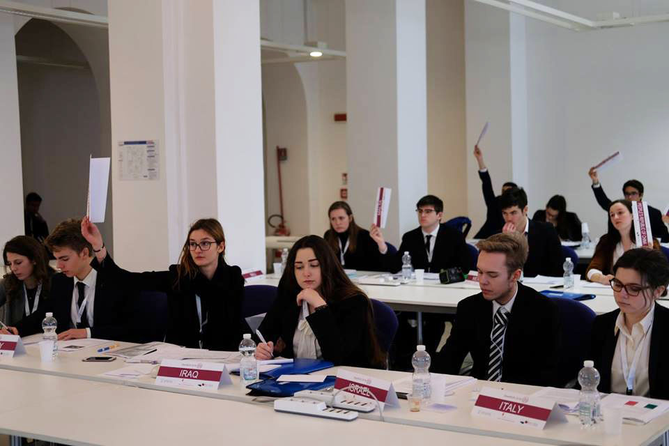 OberMUN 2018 - Model United Nations in Trieste, Italien 2018